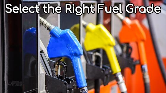 Fuel-Grades-Explanation
