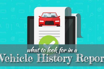 Vehicle History Report